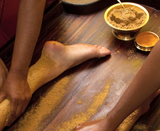 Massage traditionnel indien